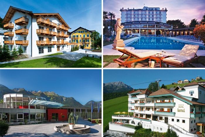 Wählen Sie Ihr Wunschhotel aus mehr als 300 Ferienhotels in 12 Ländern Europas!